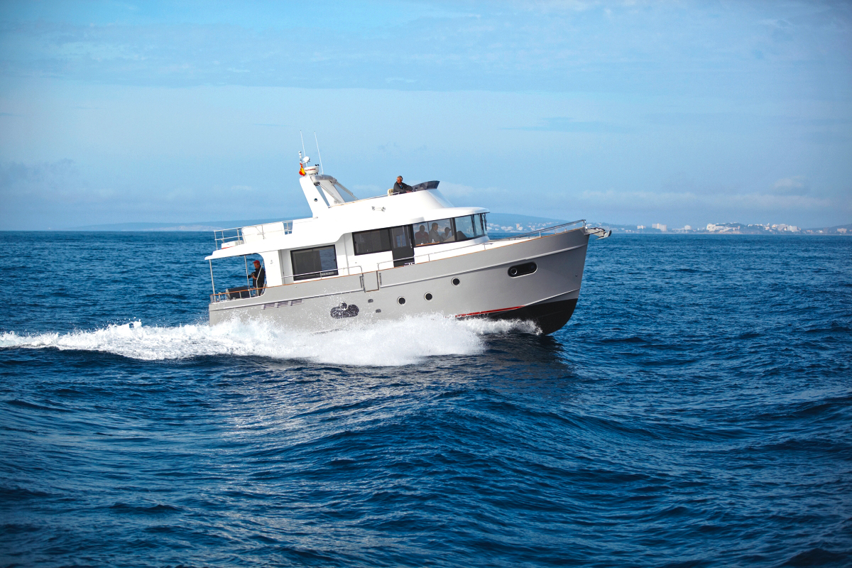 Swift Trawler 50; Beneteau; Fahrbericht; 2013; Palma; Mallorca